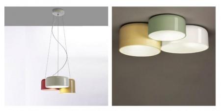 Takmonterte og nedhengte lamper